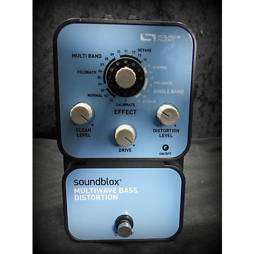Source Audio SA125 MULTIWAVE BASS DISTORTION Effect Pedal