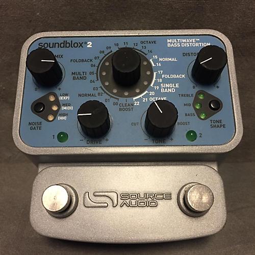 Source Audio SA221Multiwave Bass Distortion Bass Effect Pedal-thumbnail