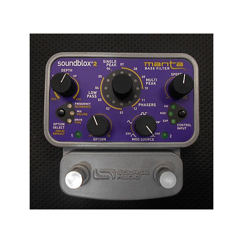 Source Audio SA223 Soundblox 2 Manta Bass Filter Bass Effect Pedal