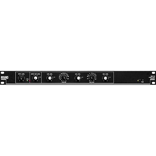 Rane SAC 23 Stereo 3-Way Crossover