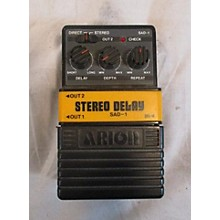 Arion SAD 1 STEREO DELAY Effect Pedal