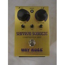 Way Huge Electronics SAFFRON SQUEEZE Effect Pedal