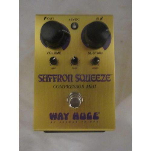 Way Huge Electronics SAFFRON SQUEEZE Effect Pedal