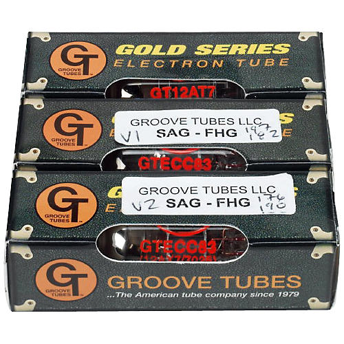 Groove Tubes SAG-FHG Fender High Gain Preamp Tube Changing Kit
