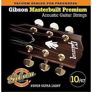 Gibson SAG-MB10 Masterbuilt Premium Phosphor Bronze Acoustic Strings by Gibson