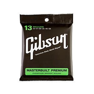 Gibson SAG-MB13 Masterbuilt Premium Phosphor Bronze Acoustic Guitar Strings by Gibson