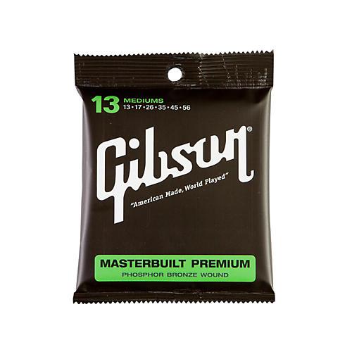 Gibson SAG-MB13 Masterbuilt Premium Phosphor Bronze Acoustic Guitar Strings-thumbnail