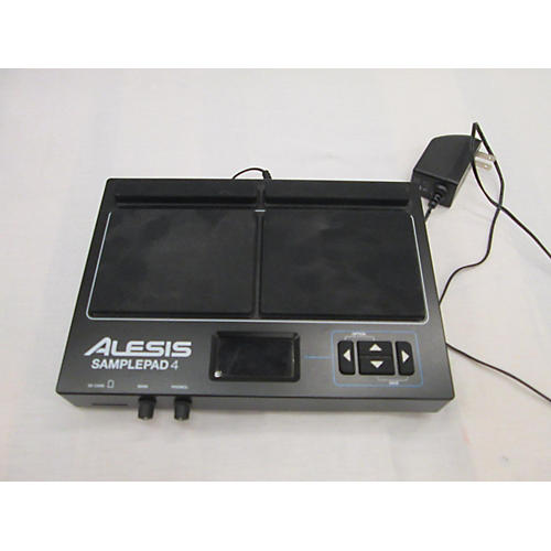 used alesis sample pad 4 drum midi controller guitar center. Black Bedroom Furniture Sets. Home Design Ideas