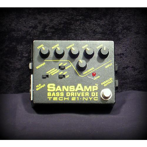 Tech 21 SANS AMP BASS DRIVER Bass Effect Pedal
