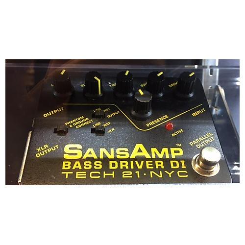 Tech 21 SANSAMP BASS DRIVER DI Bass Effect Pedal