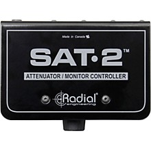 Radial Engineering SAT-2 Stereo Audio Attenuator & Monitor Controller