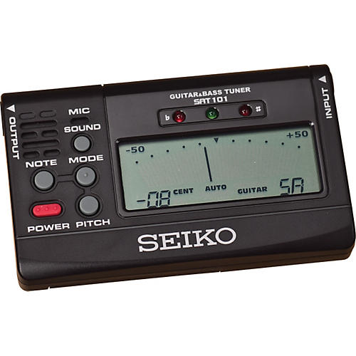 Seiko SAT101 Guitar/Bass Tuner