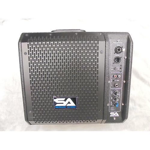 Seismic Audio SAX-8MPW Powered Speaker