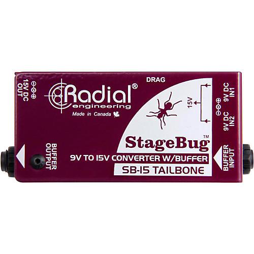 Radial Engineering SB-15 Tailbone High Performance Signal Buffer-thumbnail
