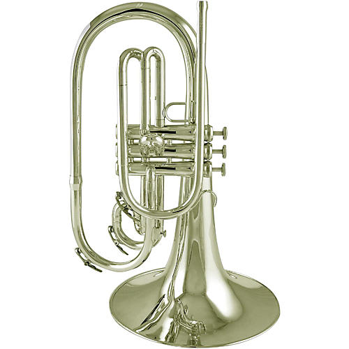 King SB20P Marching F Mellophone Silver