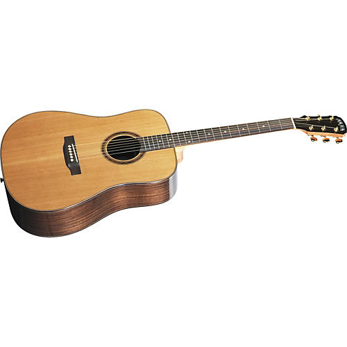 Great Divide SBDC-24-G Dreadnought Solid Cedar Top Acoustic Guitar