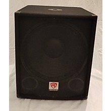Rockville SBG1188 Unpowered Subwoofer