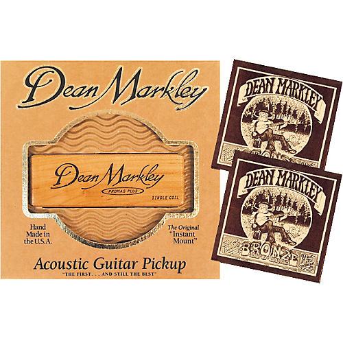 Dean Markley SC-1 Acoustic Pro Mag Pickup Bundle