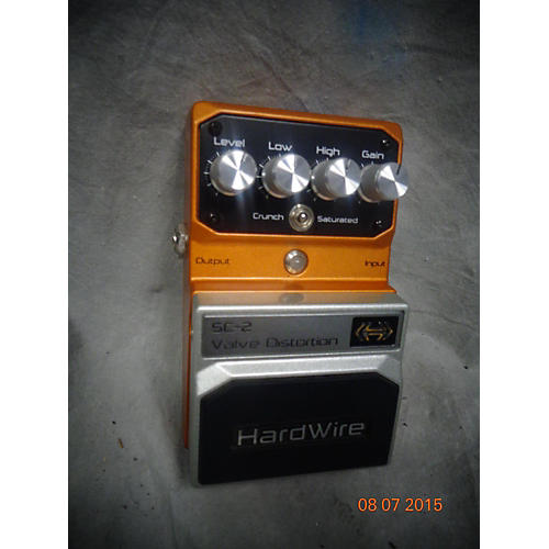 In Store Used SC-2 VALVE DISTORTION Effect Pedal
