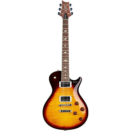 PRS SC 245 Figured Flame Maple 10 Top Electric Guitar Mccarty Tobacco Sunburst