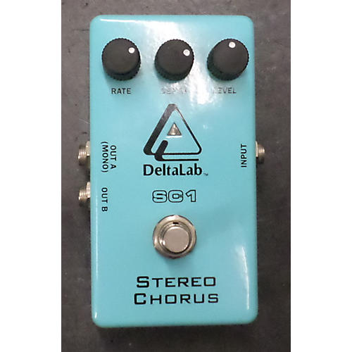 Deltalab SC1 Stereo Chorus Effect Pedal-thumbnail