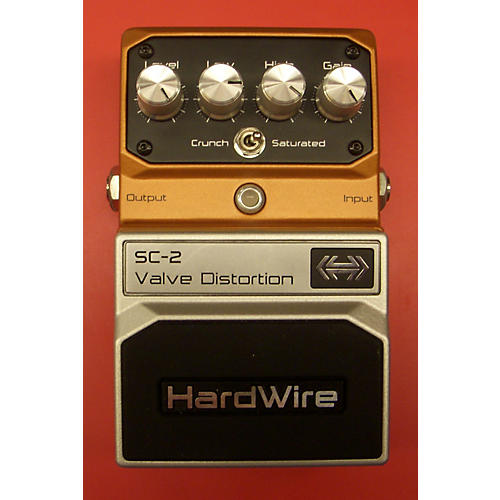 Digitech SC2 Hardwire Valve Distortion Effect Pedal