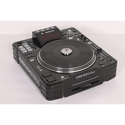 Denon SC3900 Digital Media Turntable & DJ Controller Black 886830867415