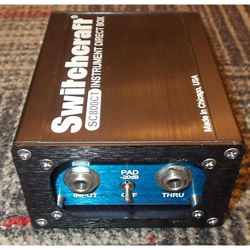 Switchcraft SC800CT Direct Box