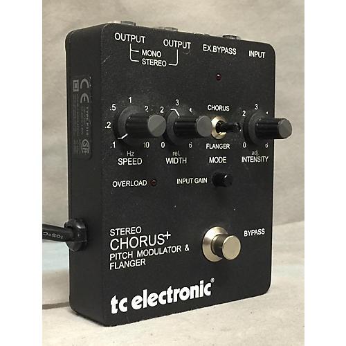 TC Electronic SCF Chorus Flanger Effect Pedal