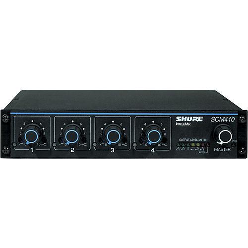 Shure SCM410 4-Channel Automatic Mixer-thumbnail
