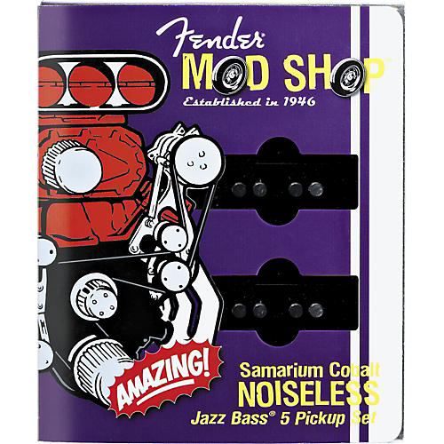 Fender SCN Samarium Cobalt Noiseless 5-String Jazz Bass Pickup Set