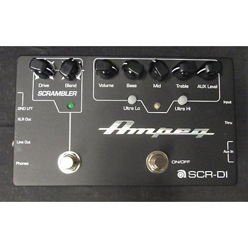 Ampeg SCR-DI Bass Effect Pedal