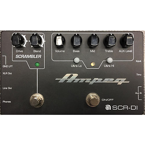 Ampeg SCR-ID Bass Effect Pedal-thumbnail