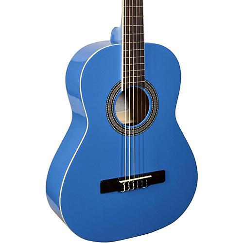 San Mateo SCS6 1/2 Size Mini Classical Acoustic Guitar Blue-thumbnail