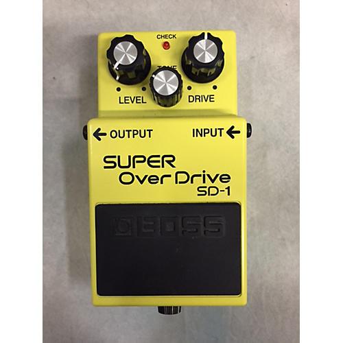 Boss SD1 Super Overdrive Effect Pedal