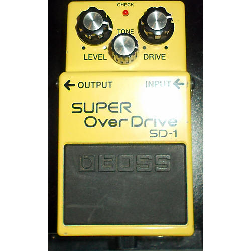 Boss SD1 Super Overdrive Effect Pedal-thumbnail