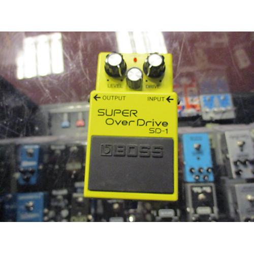 Boss SD1 Super Overdrive Effect Pedal-thumbnail