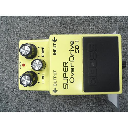 Boss SD1 Super Overdrive Japan Effect Pedal-thumbnail