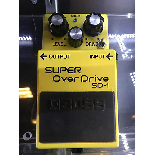 Boss SD1 Super Overdrive Keeley Mod Effect Pedal-thumbnail