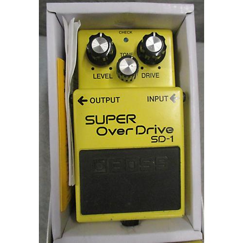 Boss SD1 Super Overdrive Keeley Mod Effect Pedal-thumbnail