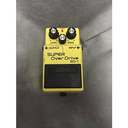 Boss SD1 Super Overdrive Yellow Effect Pedal