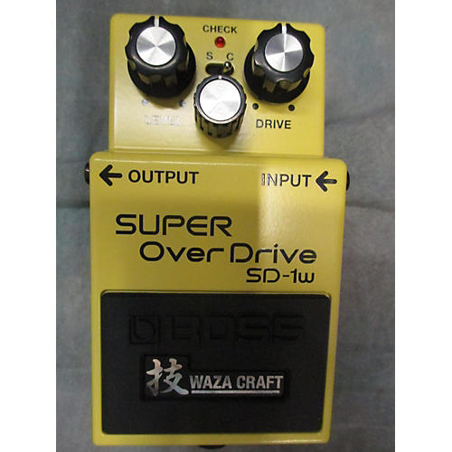 Boss SD1W Super Overdrive Waza Craft Effect Pedal