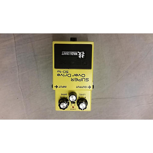 Boss SD1W Super Overdrive Waza Effect Pedal