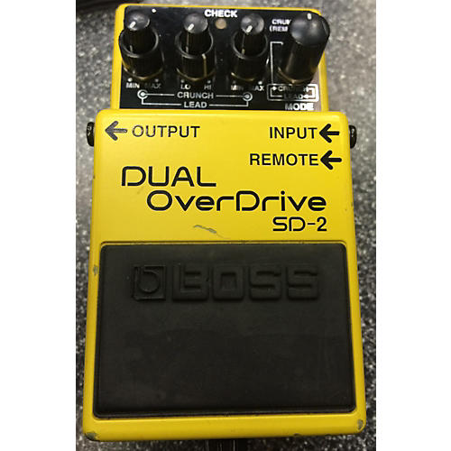 Boss SD2 Dual Overdrive Effect Pedal-thumbnail