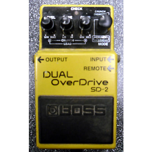 Boss SD2 Dual Overdrive Effect Pedal