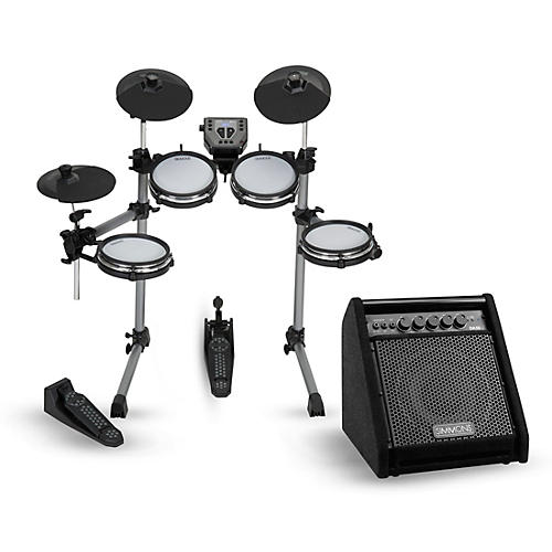 simmons sd350 electronic drum kit with mesh pads and simmons da50 monitor guitar center. Black Bedroom Furniture Sets. Home Design Ideas