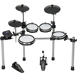 Click here to buy Simmons SD550 Electronic Drum Set with Mesh Pads by Simmons.
