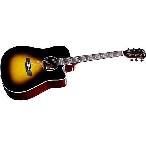 Great Divide SDCE-18 Dreadnought Solid Sitka Spruce Top Acoustic-Electric Cutaway Guitar