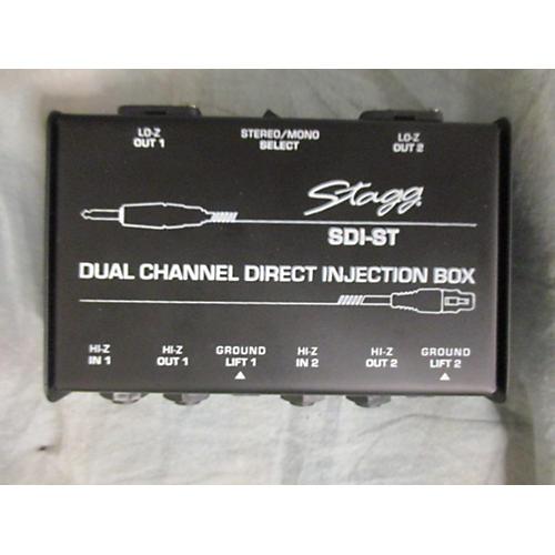Stagg SDI-ST Dual Channel Dirt Box Direct Box