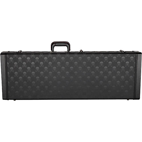 Tantrum SDKLE320 Skull Guitar Case by Coffin Case Black